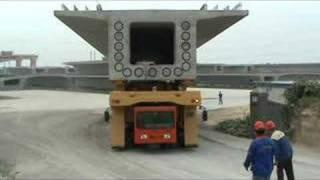 550T Girder Transporter