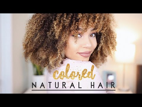 How To Maintain Colored Natural Hair + Favorite Hair Products 2018