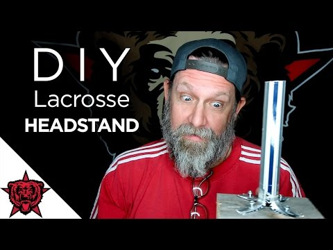 How to: Make a Lacrosse Head Stand