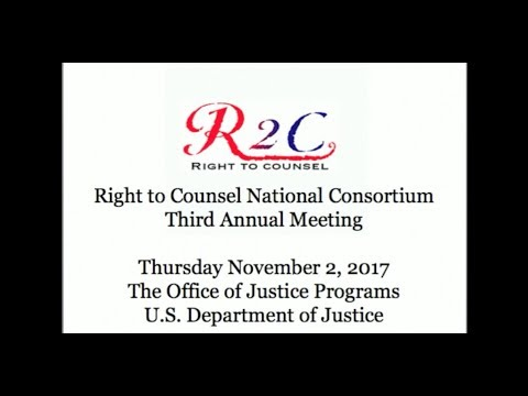 Right to Counsel Third Annual Meeting Highlights