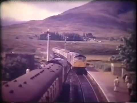 A train trip to Kyle of Lochalsh from Inverness in 1971