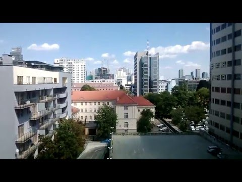 Warsaw, Poland:  MY APARTMENT