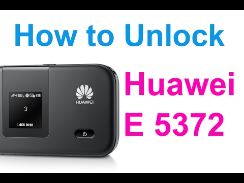 How to Unlock Zain Huawei E 5372 Wi-Fi Modem Router - Easy Steps