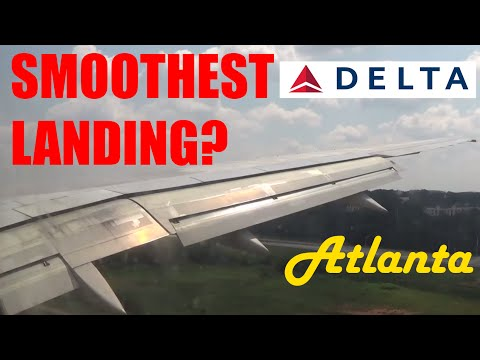 SMOOTHEST LANDING EVER? Delta Airlines B757-200 Landing at Atlanta [FULL HD]