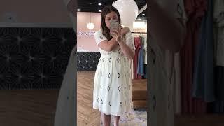 c4a041b473f1 Piper & Scoot: The Danielle Diamond Empire Dress in White