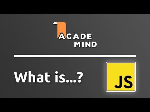 What is JavaScript - academind.com Snippet