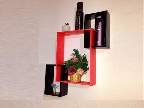DIY Room Decor Organization | Wall Shelves Design Idea |