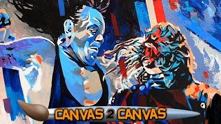 The Brothers of Destruction hit the canvas: WWE Canvas 2 Canvas
