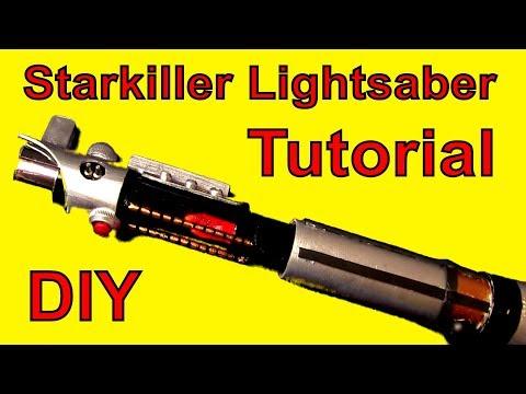 How To Make Starkiller's Lightsaber (DIY)