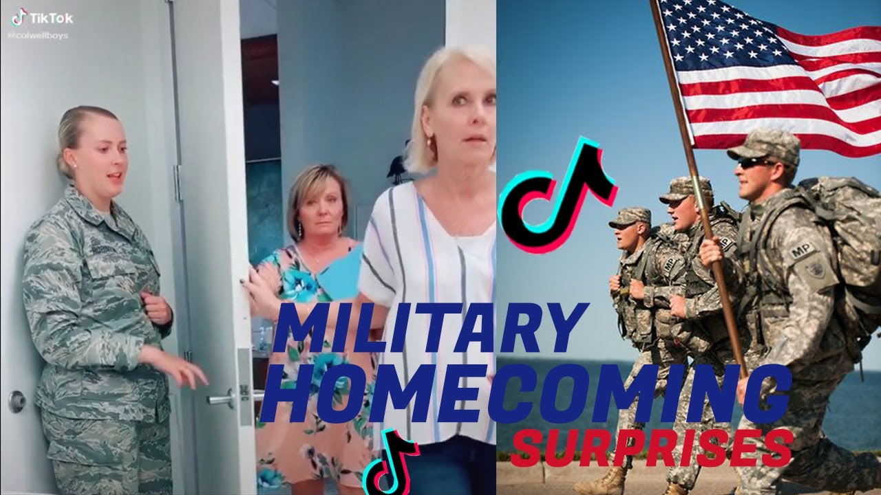 Tiktok USA 2020 military soldiers ❤️Homecoming surprises compilation | you can Cry |