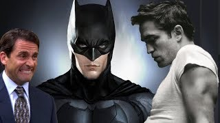 Robert Pattinson REVEALS Bruce Wayne Look and Physique for The Batman Movie!