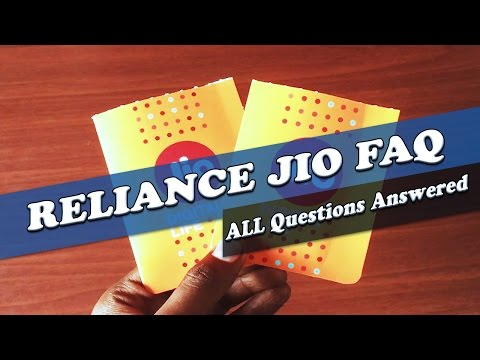 How To Get Reliance Jio | Activate Unlimited Data | Common Faq's