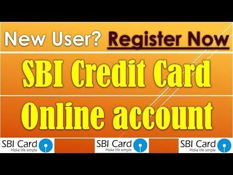 How to register SBI Credit Card on website.