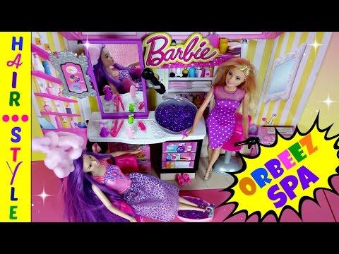 BARBIE ORBEEZ SPA SALON STYLE BARBIE ENDLESS HAIR KINGDOM *Shopkins Season 4 Blind Baskets