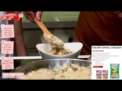 Demo masakan Prego bersama Chef Riz dan Zukie khas untuk Hari Ibu