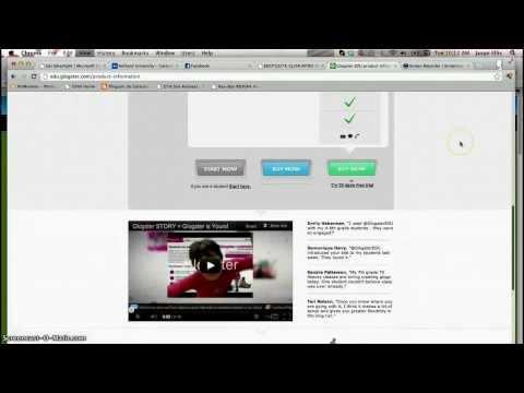 Creating a Glogster.EDU Account
