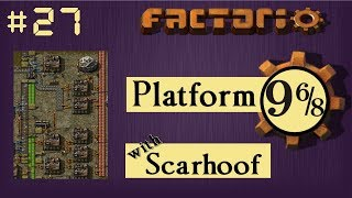 Factorio Multiplayer: Platform 9 6/8 EP 27 - More Iron! | Train & Belt World, Gameplay, Lets Play