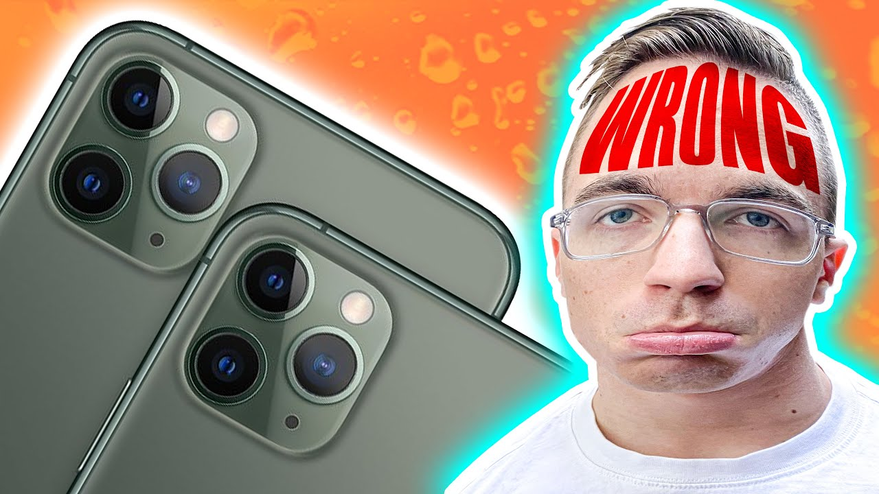 I was WRONG about the iPhone 11 Pro...