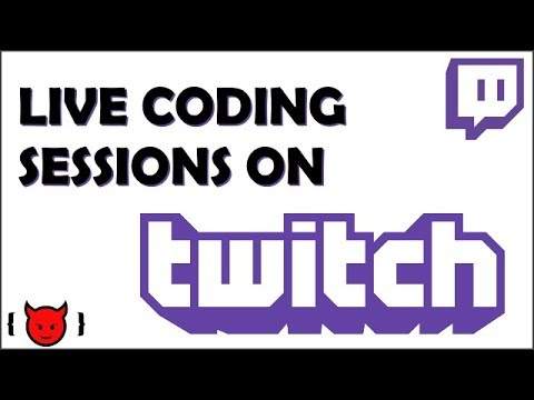 Join Me on Twitch for Live Coding Sessions!