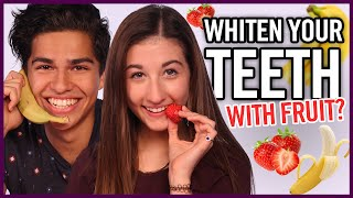 Diy Teeth Whitening Makeup Mythbusters W Maybaby And Alex Aiono
