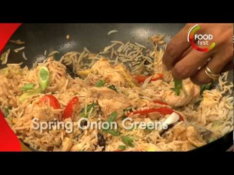 How to cook Chicken fried rice and Bok Choy - simple, easy quick recipe
