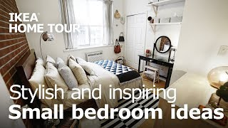 Stylish & Inspiring Bedroom Makeover - Ikea Home Tour