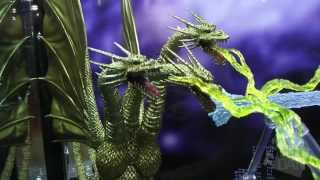 Toy Fair 2013: S.H. MonsterArts Godzilla Figures Video Footage