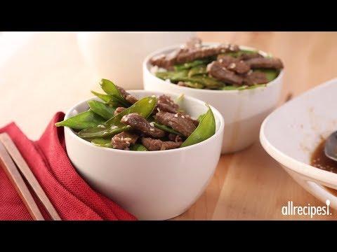 How to Make Asian Beef and Snow Peas | Stir Fry Recipes | Allrecipes.com
