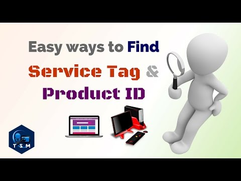 How to | Find Laptop product ID or | Service tag | PC Product ID | Command Prompt