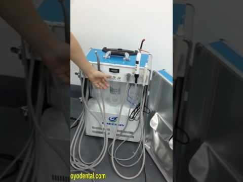 How to Use the Dental Portable Unit GU-P206 Correctly