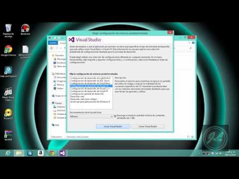 Instalación de Visual Studio 2012 Ultimate Full