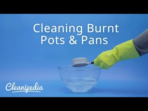 Cleaning Burnt Pots & Pans