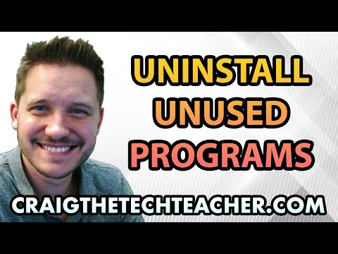 How To Uninstall Unused Windows XP Programs - Ep. 11