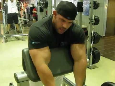 Frankie Paulk of Prescription Nutrition Showing You How He Built 21 Inch Biceps