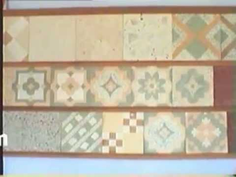 Manek - Tile Press for Cement and Mosaic Tiles, Hydraulic - Design Moulds