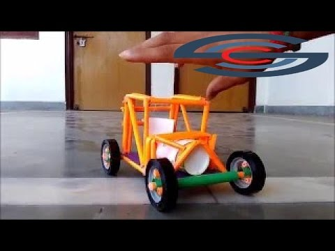 The best Videos - How to make a paper racing car - new concept - for kids