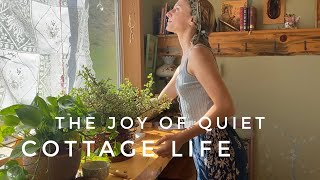 A Quiet Day Spent Alone - Inspiration for Simple Living - Cozy Baking Vlog