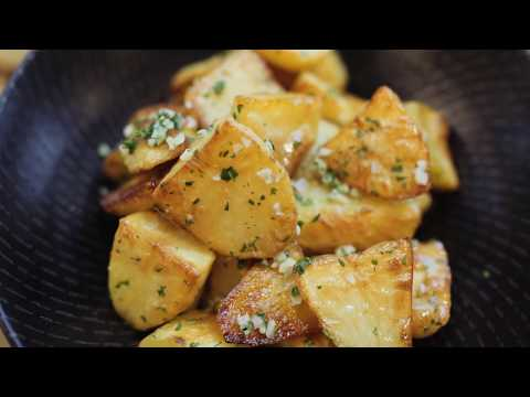 Duck fat roasted potatoes by Tobie Puttock