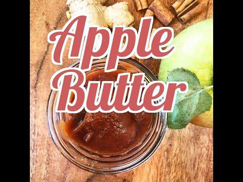 Fall Treats: How to make no sugar added Apple Butter (in your slow cooker)