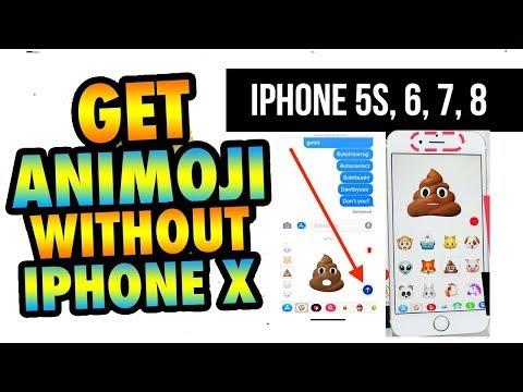 3D animoji Emoji for iPhone 5, 6, 7, 8 devices | SUPERMOJI & NO JAILBREAK | The sobuZ