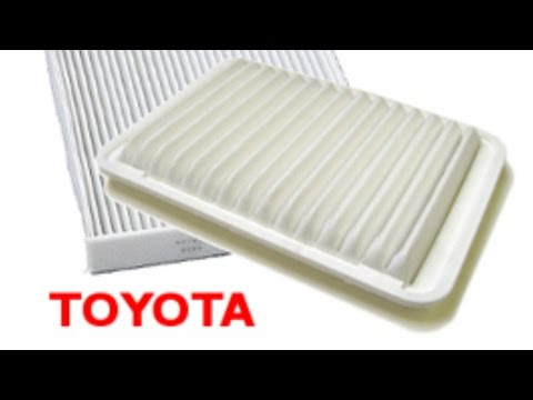 Install & Replace Toyota Tacoma Engine Air Filter