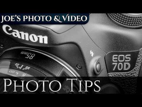 How To: ISO Speed Settings On The Canon 70D DSLR | Photography Tips