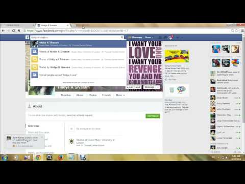 how to find fake profile on facebook malayalam tutorial