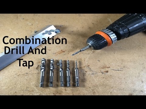 Combination Drill And Tap Countersink Bit Set