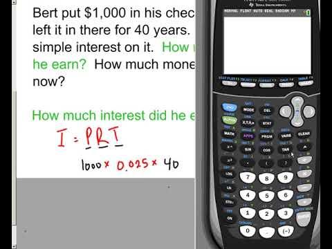 Lesson   Simple Interest