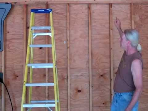 Building your own 24'X24' garage and save money. Steps from concrete to framing. Part 2