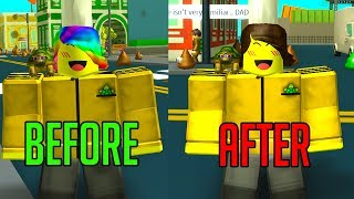 ROBLOX POOP SIMULATOR DELETED MY RAINBOW SHAGGY *LOST 1.6 MILLION ROBUX*