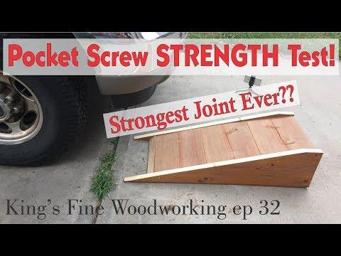 32 - Extreme Pocket Screw Strength Test