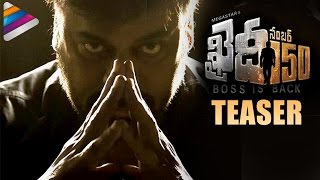 Chiranjeevi 150th Movie Khaidi No 150 Teaser | #KhaidiNo150 | Kajal Aggarwal | Ram Charan