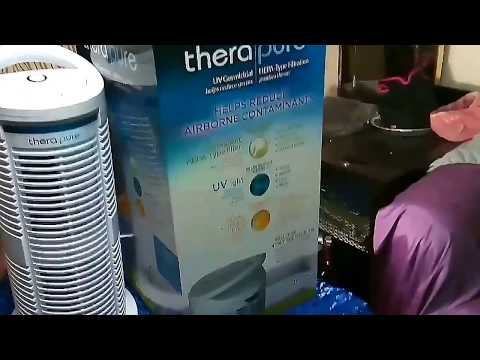 REVIEW OF THERAPURE HEPA FILTER SYSTEM w/ PERMANENT FILTER & IS QUIET!!!!!!!